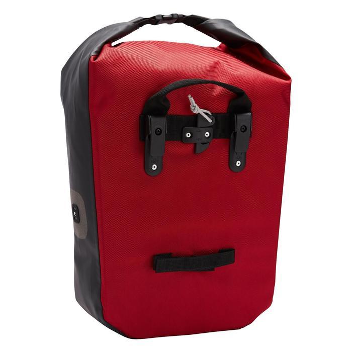 Fahrradtasche Gepäcktasche 500 20Liter wasserdicht rot