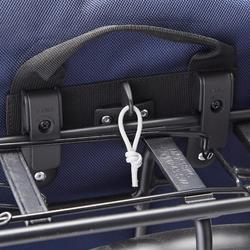 Fahrradtasche Gepäcktasche 500 wasserdicht 20 Liter marineblau