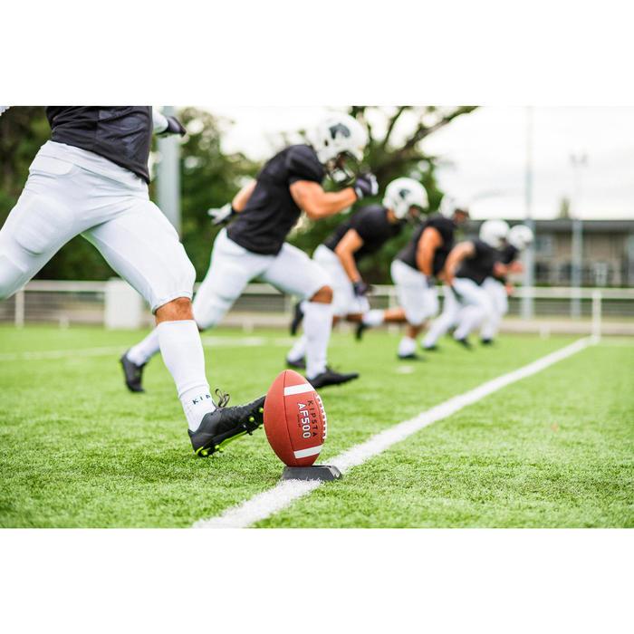Trikot American Football AF 550 Erwachsene schwarz