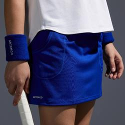 Tennisrock Pocket 500 Kinder indigoblau