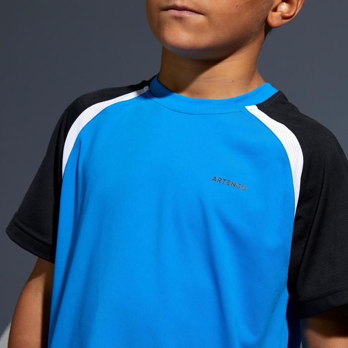 T-Shirt 500 Kinder blau