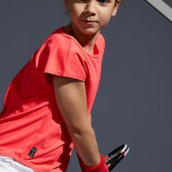 T-Shirt 500 Tennisshirt Kinder rosa