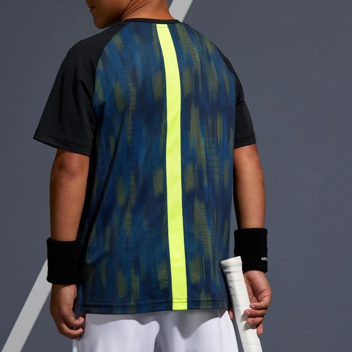 T Shirt Kinder 500 schwarz/gelb