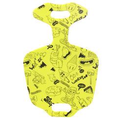Pannenkoekslee voor kinderen Funny Slide geel
