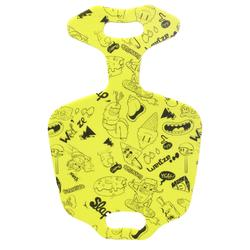 Trineo pala de nieve Funny Slide amarillo