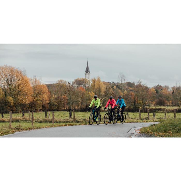 Fietsregenjas voor heren 500 Roadcycling fluogeel