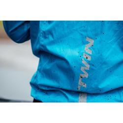 Fietsregenjas voor heren 100 blauw