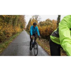 Fahrrad-Regenjacke 100 Radsport Herren blau
