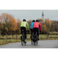 Fahrrad-Regenjacke Rennrad RC 500 Herren rot