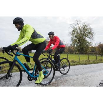 Fietsregenjas voor heren 500 wielertoerisme fluorood