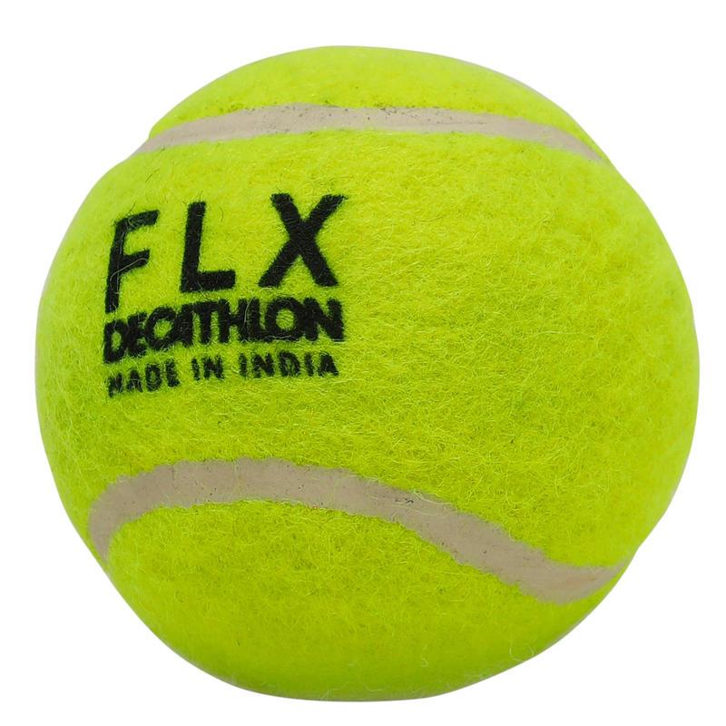 Cricket Soft Tennis Ball, for tennis ball cricket matches, Fluorescent Green