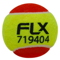Cricket Soft Tennis Ball, for tennis ball cricket, Red & Fluorescent Green