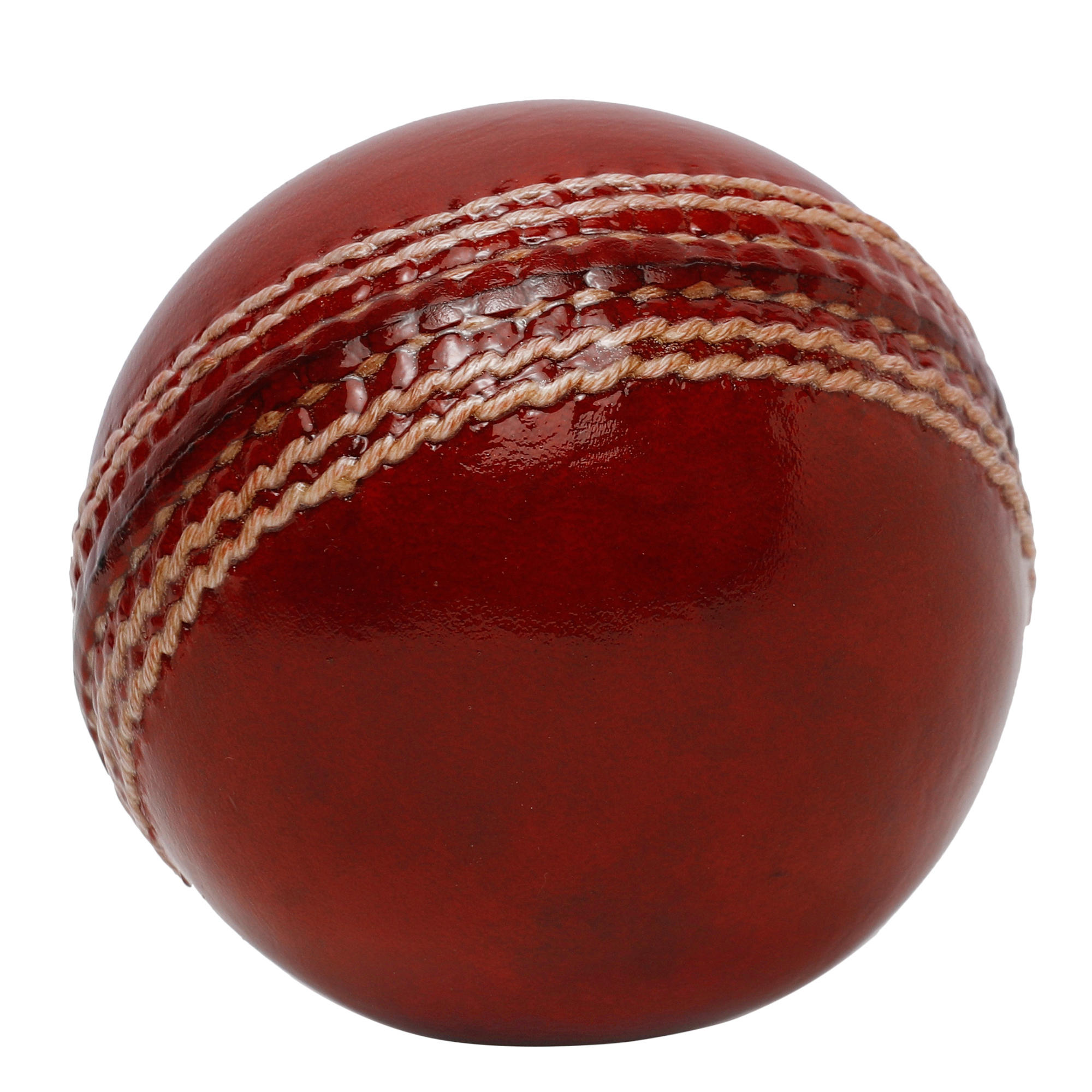 Cricket Leather Ball, 2-piece, non toxic.