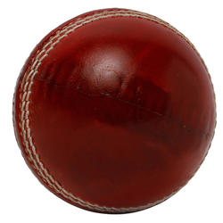 CRICKET NON TOXIC 4 PIECE LEATHER BALL, ICC STANDARD