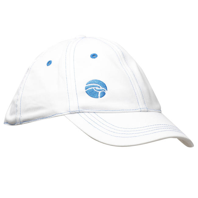 FLX Cricket Sun Protection Cap, White - Kids/Youth/Adult