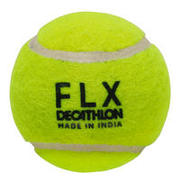 CRICKET SOFT TENNIS BALL, FLUORESCENT GREEN
