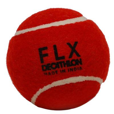 TB HARD CRICKET TENNIS BALL RED