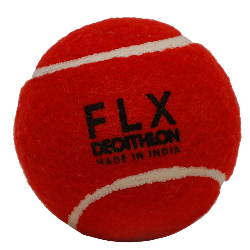 TB HARD CRICKET TENNIS BALL RED