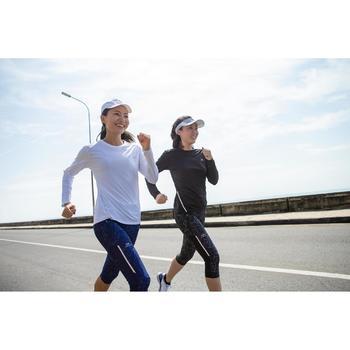 Laufshirt langarm Run Sun Protect Damen weiß