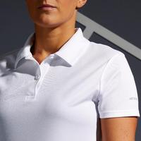 Women's Tennis Polo Dry 100 - White