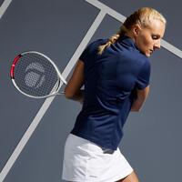 Women's Tennis Polo Shirt Dry 100 - Navy