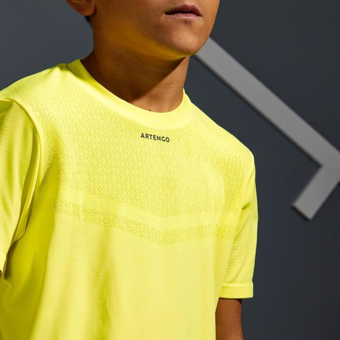 T-shirt 900 jongen fluogeel