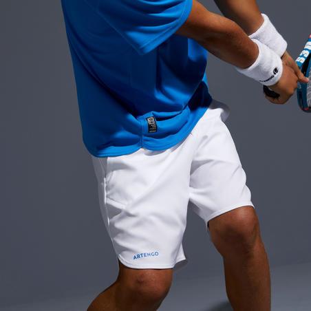 500 Kids' Tennis Shorts - White