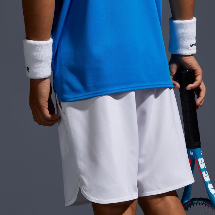 500 Kids' Tennis Shorts White