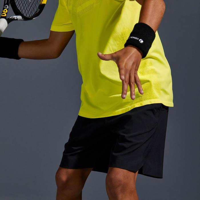 Tennishose 900 Jungen schwarz