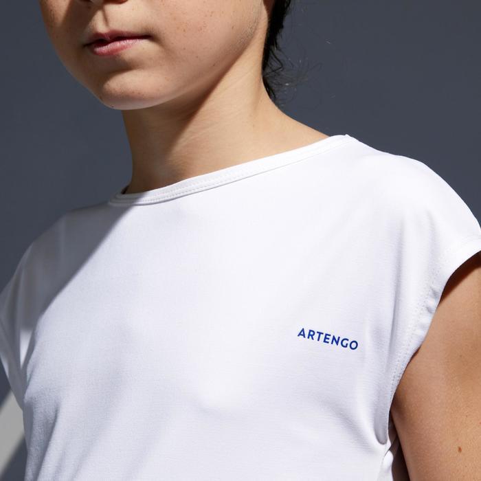 T-shirt meisjes 500 wit