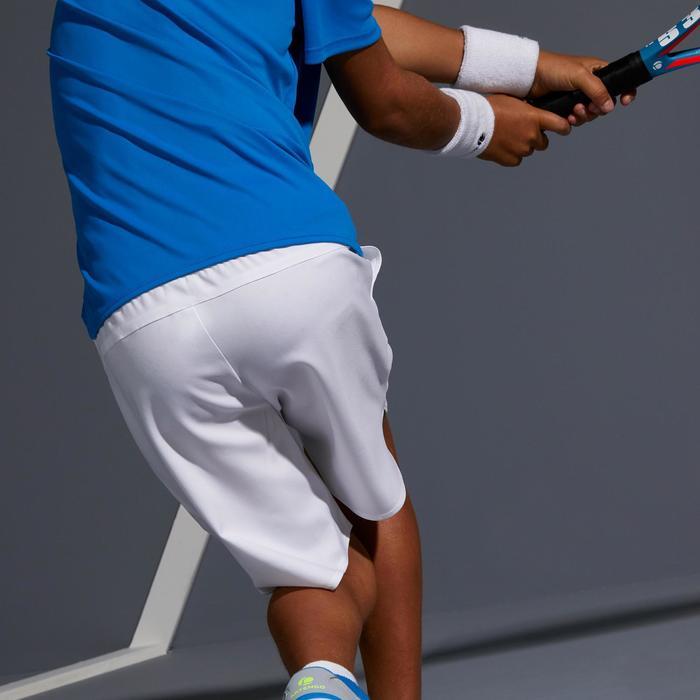 Tennis-Shorts 500 Kinder weiß