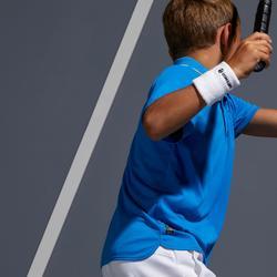 Poloshirt 500 Tennispolo Kinder blau