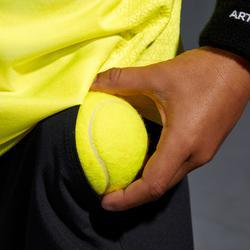 Shorts 900 Tennishose Jungen schwarz