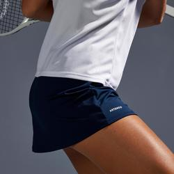 Tennisrock Essential 100 Damen marineblau