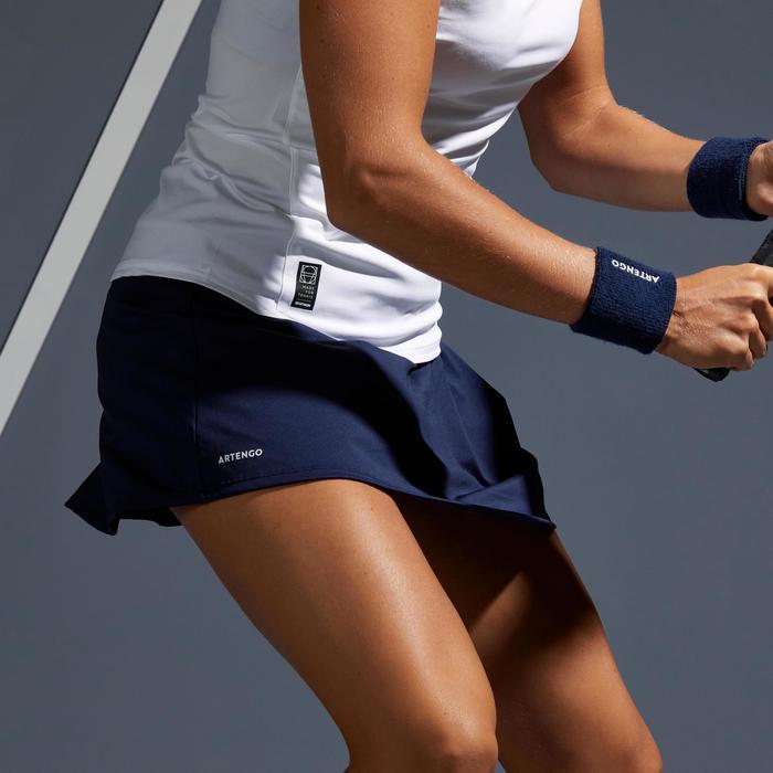 Tennisrokje SK Soft 500 marineblauw