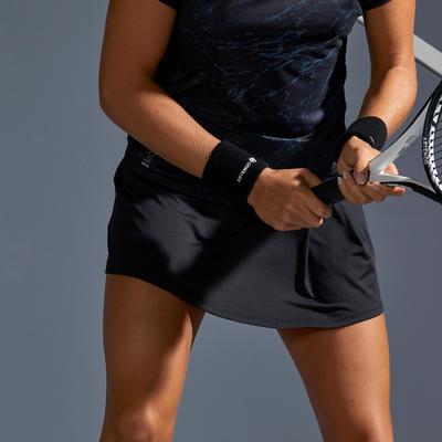 Falda de Tenis SK Soft 500 Mujer Negro