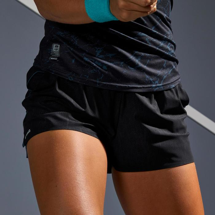 900 SH Light Women's Tennis Shorts - Grey/Black