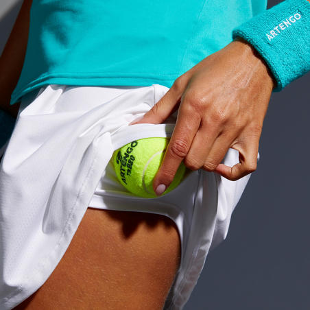 SK Soft 500 Tennis Skirt - White