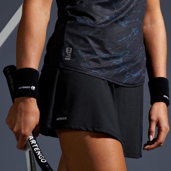Tennisrock SK Soft 500 Damen schwarz