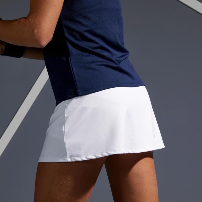 Tennisrokje Essential 100 wit