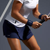 Women's Tennis Skirt SK Soft 500 - Navy