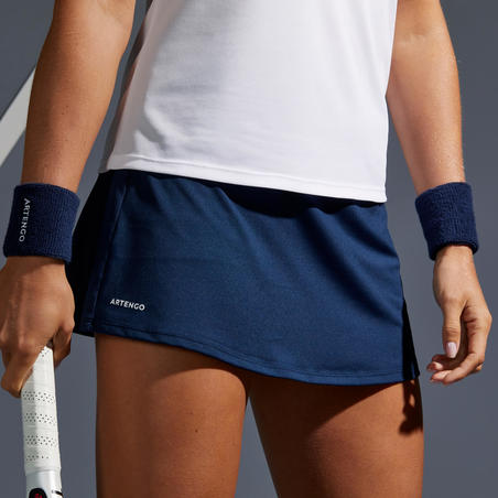 Essential 100 Tennis Skirt - Navy