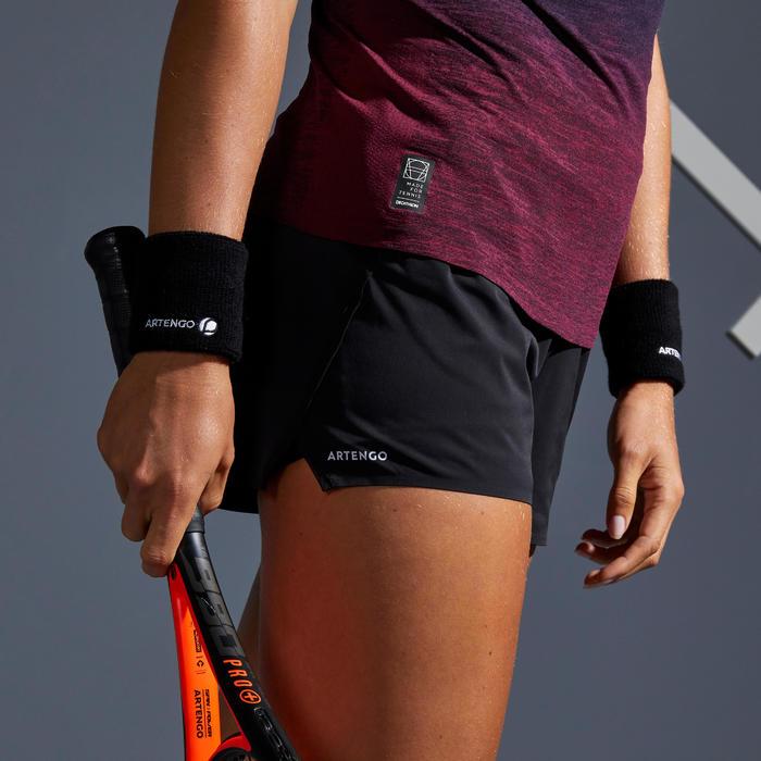 Tennisshorts SH Light 900 Damen schwarz