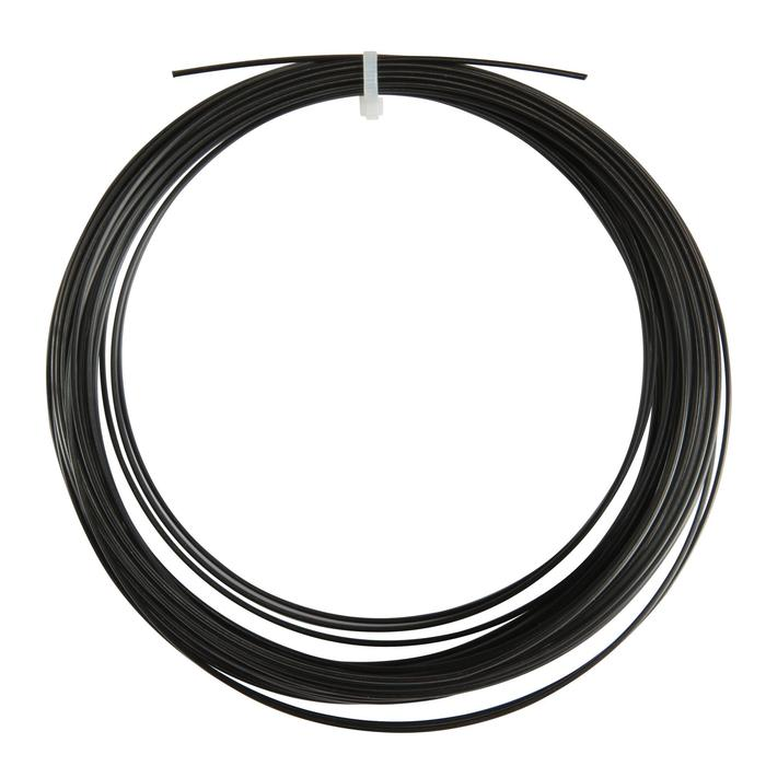 CORDAGE DE TENNIS MONOFILAMENT BLACK CODE 1.24mm NOIR - 157922
