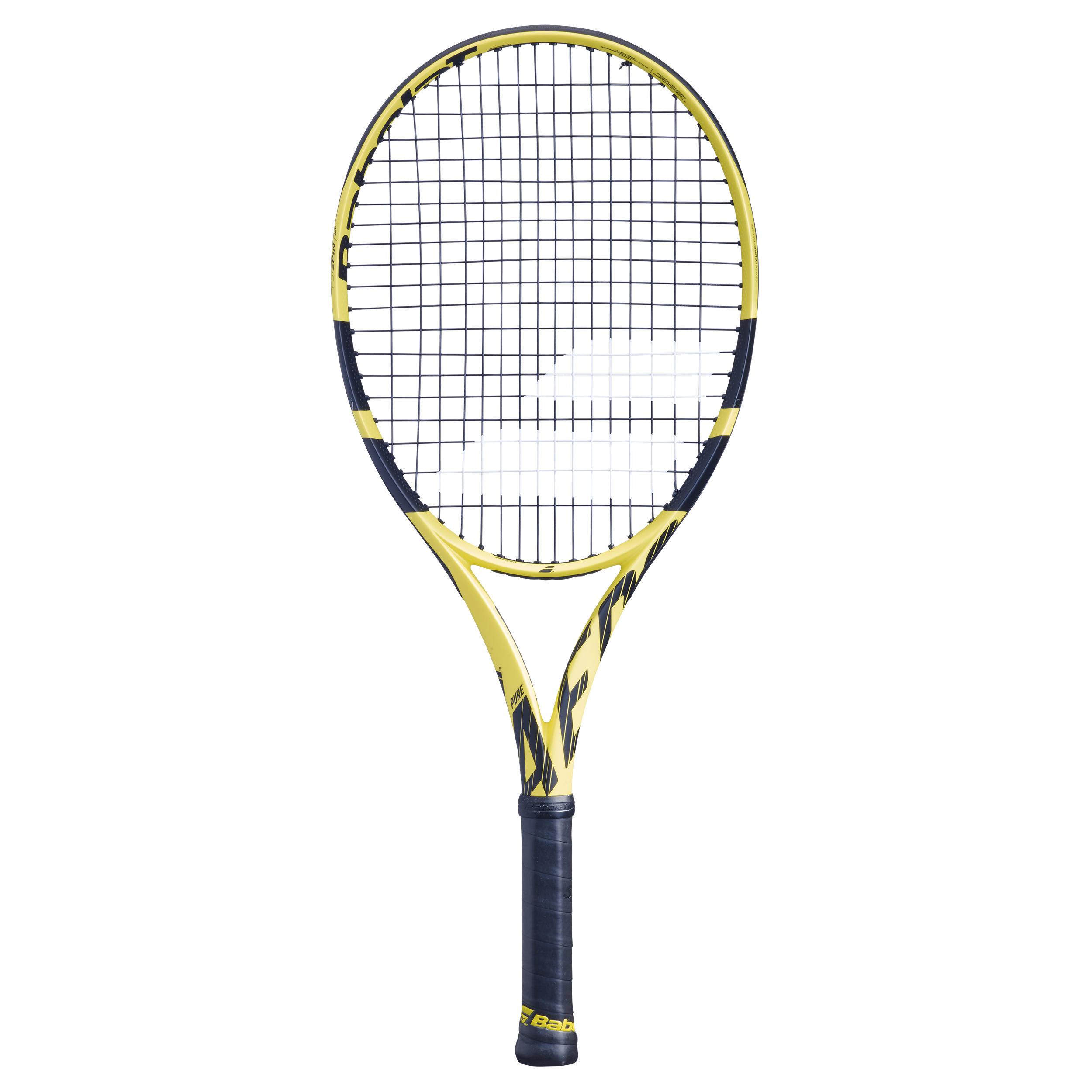 ec5acd14b9b Babolat Tennisracket kinderen Babolat Pure Aero 26 zwart geel 2019 |  Decathlon.nl