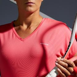 Soft 500 Women's Tennis T-Shirt - Pink