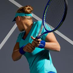 Tennisshirt dames TS Soft 500 turquoise