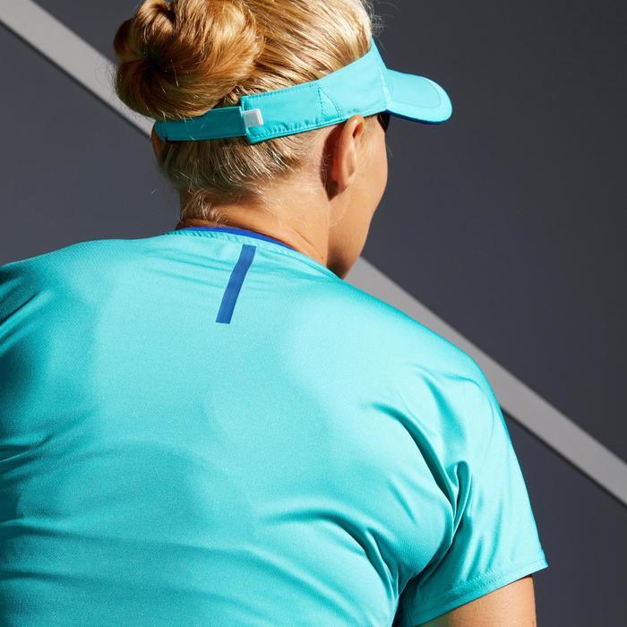 Tennis-Shirt TS Soft 500 Damen türkis