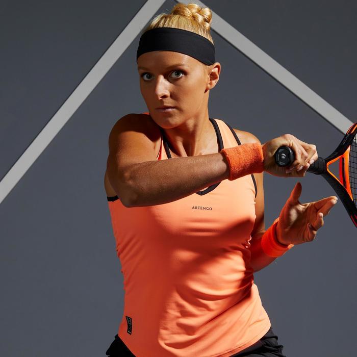 Damestopje tennis Light 900 oranje