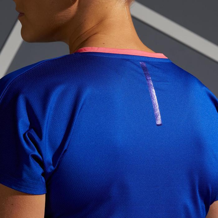 T-Shirt TS Soft 500 Tennisshirt Damen blau